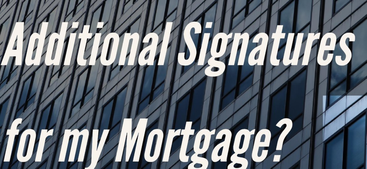 Mortgage Signatures